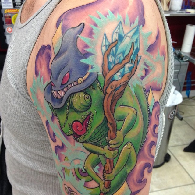 chameleon tattoo35