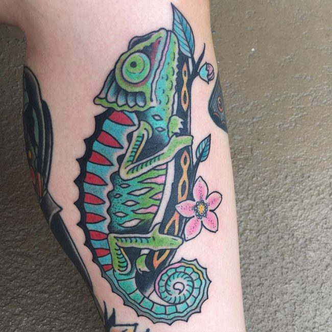 chameleon tattoo6