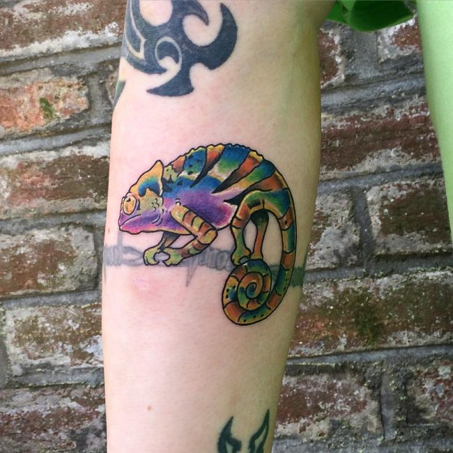 chameleon tattoo7