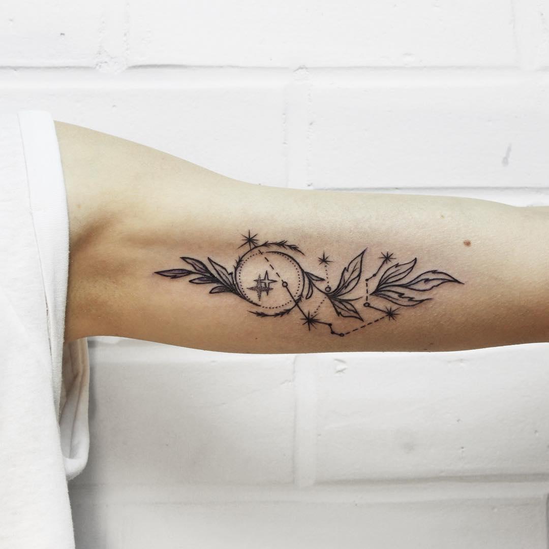 70+ Lovely Constellation Tattoo Ideas - Meet the Mysteries
