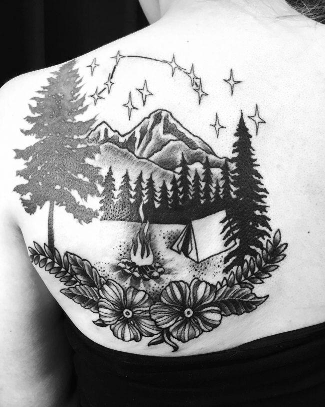 constellation tattoo22