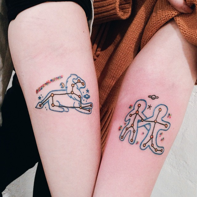 constellation tattoo42