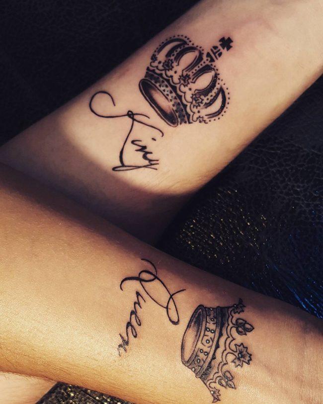 crown tattoo10
