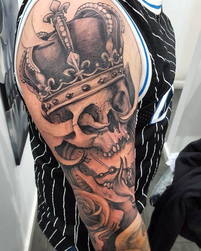 crown tattoo16