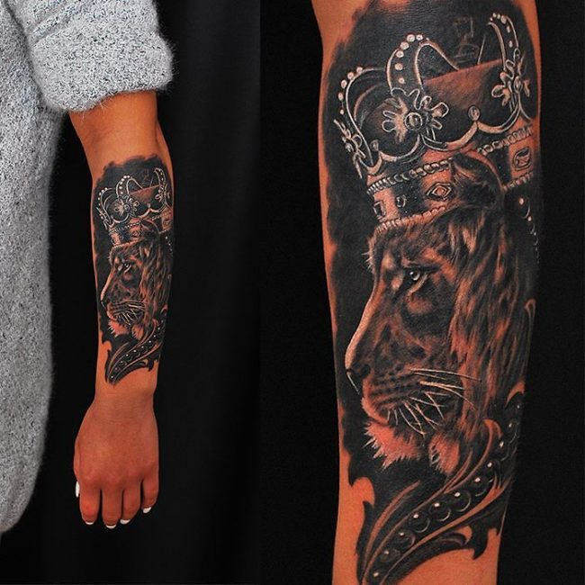 crown tattoo22