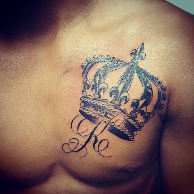 crown tattoo28