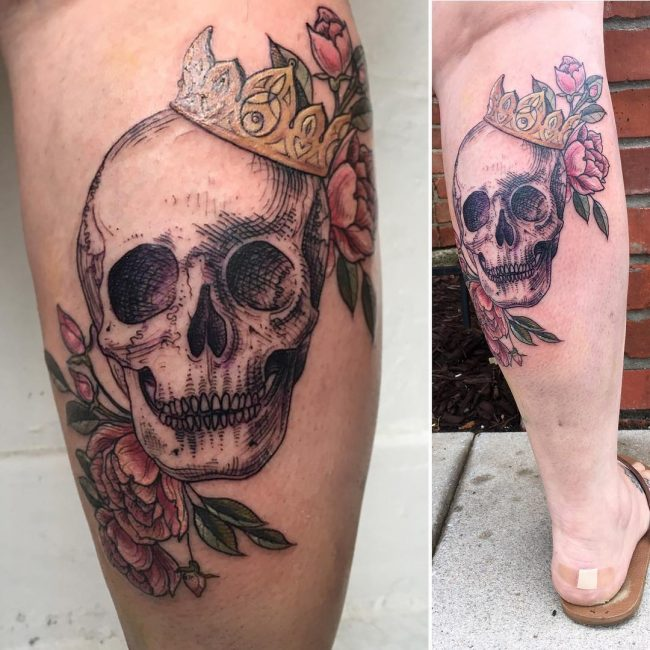 crown tattoo33