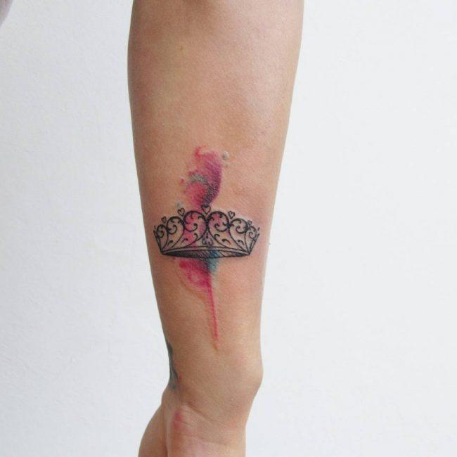 crown tattoo4
