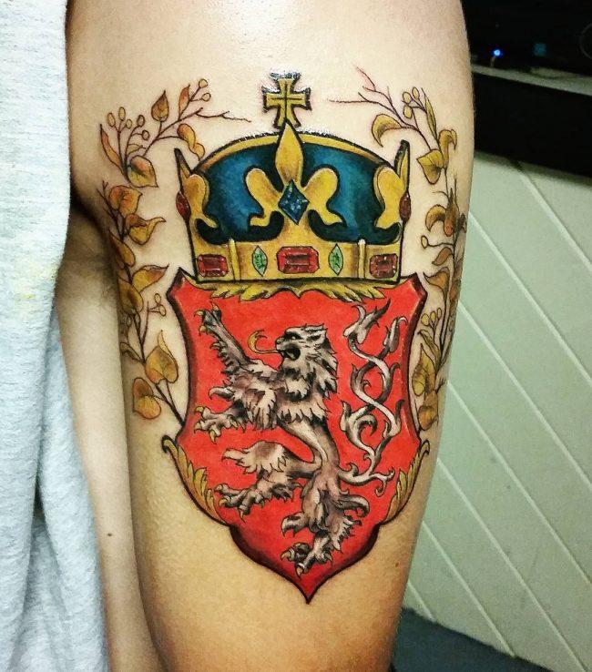 crown tattoo53