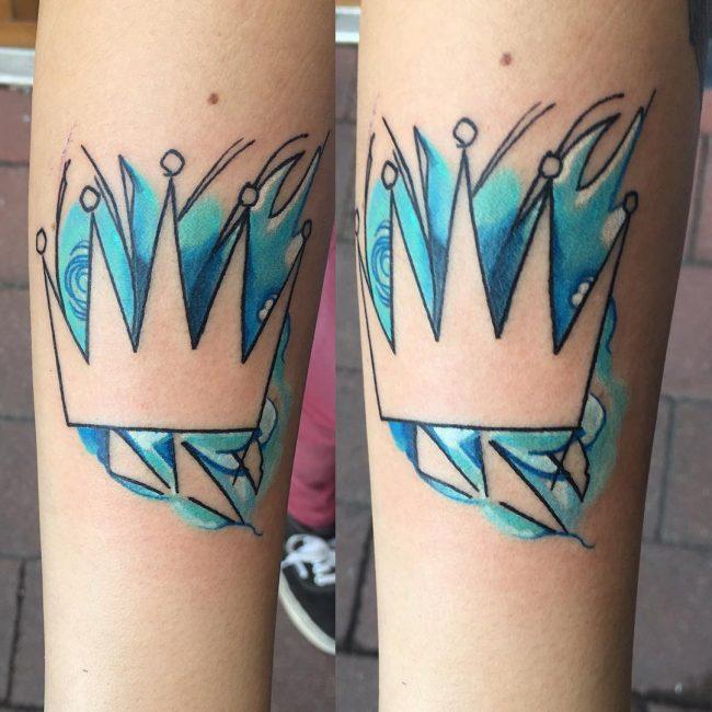 crown tattoo7