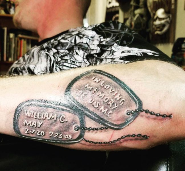 dog tag tattoo13