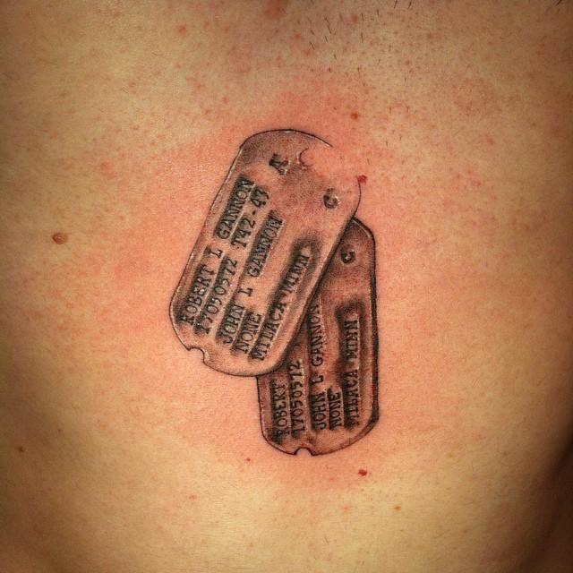 dog tag tattoo17