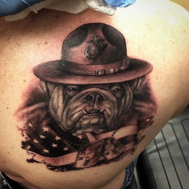dog tag tattoo19