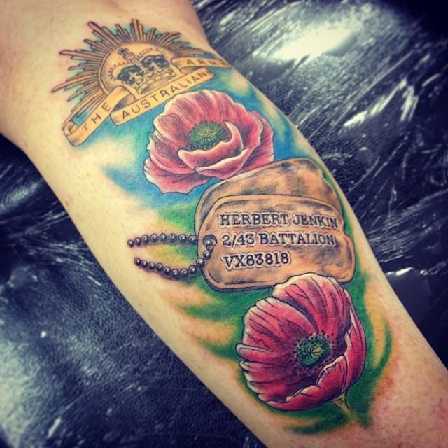 dog tag tattoo20