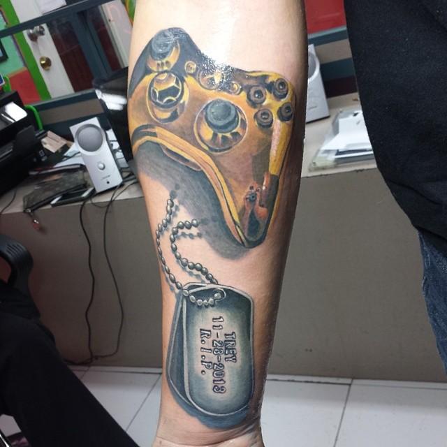 dog tag tattoo21