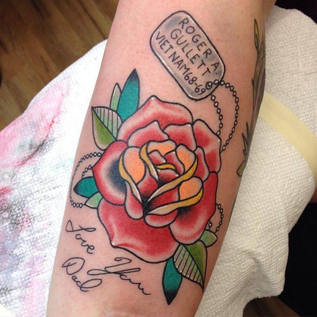 dog tag tattoo28