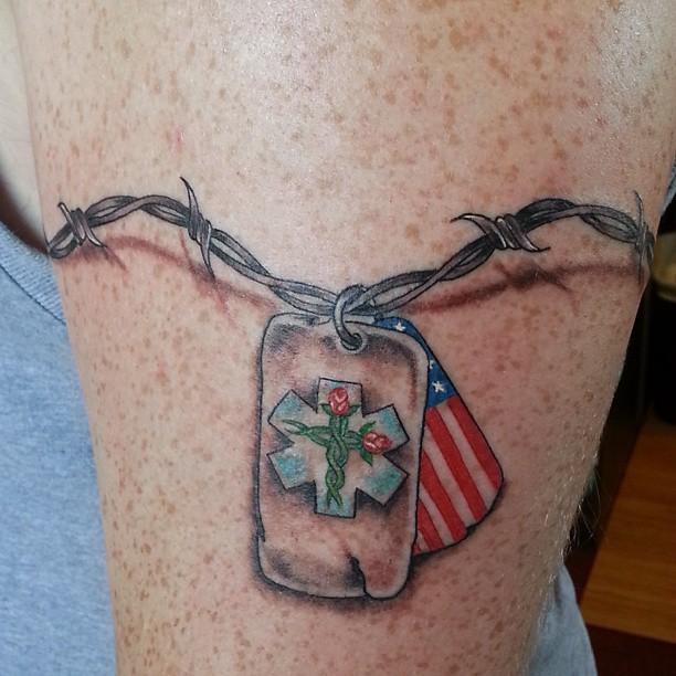 dog tag tattoo29