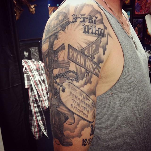 dog tag tattoo32