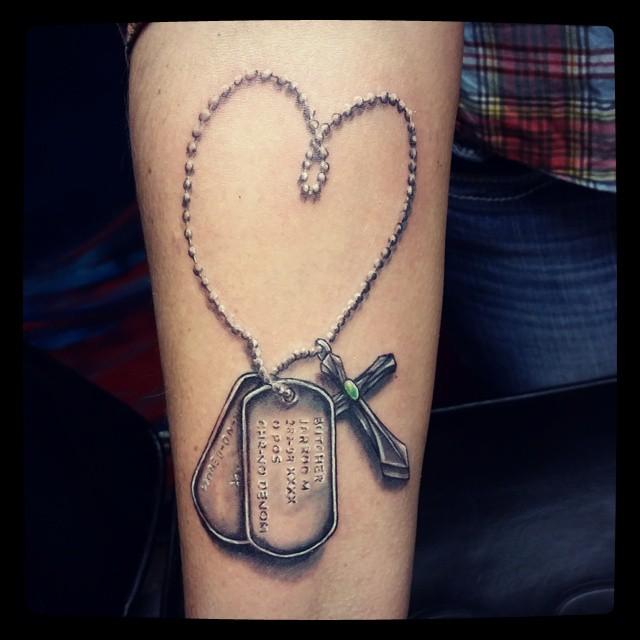 dog tag tattoo34