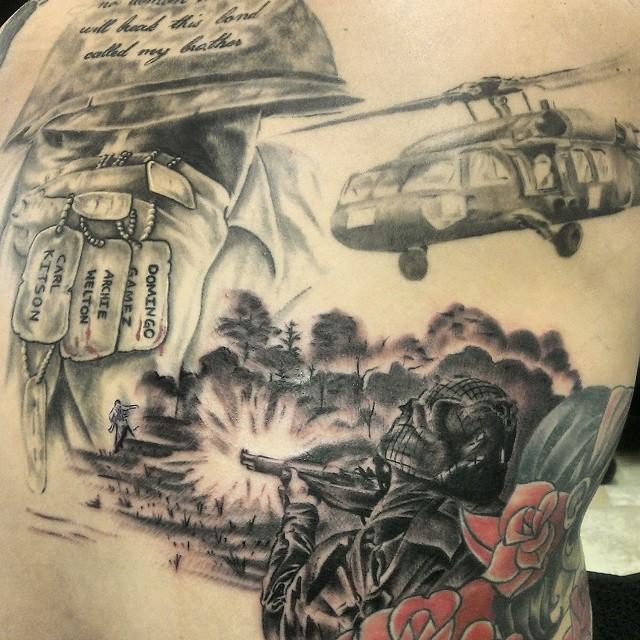 dog tag tattoo35