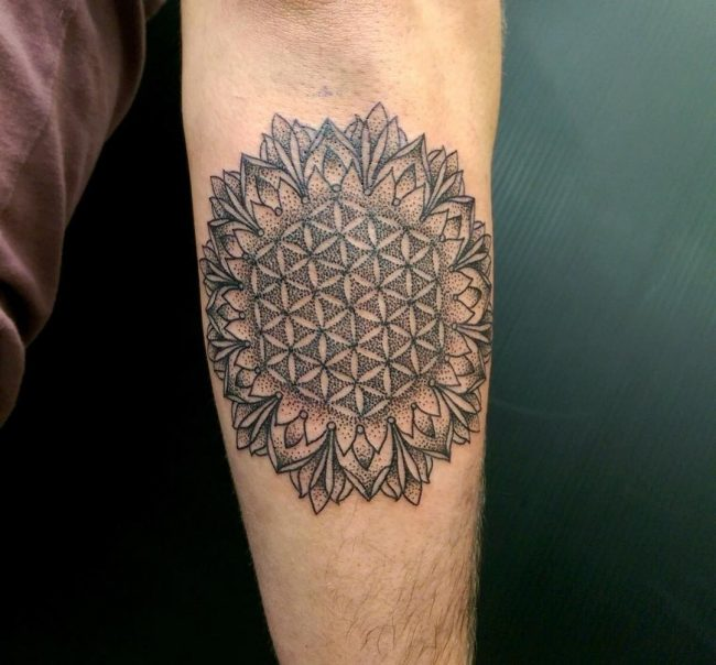 flower of life tattoo11