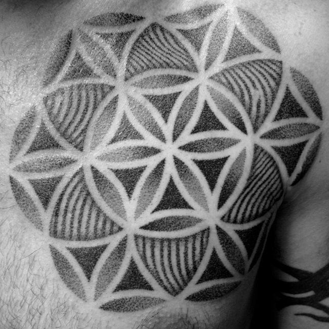 flower of life tattoo13