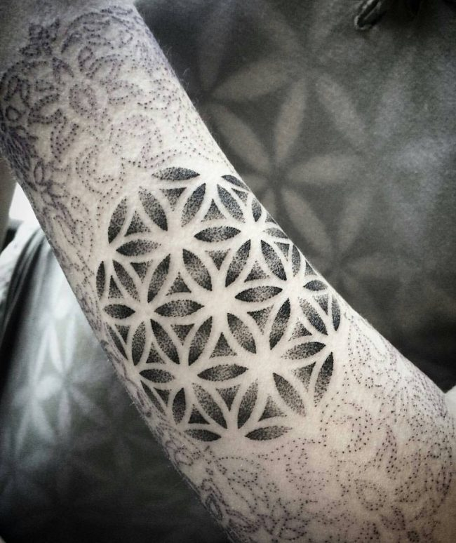 flower of life tattoo14