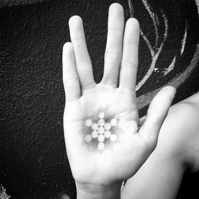 flower of life tattoo16