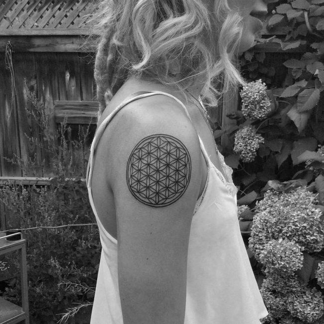 flower of life tattoo2