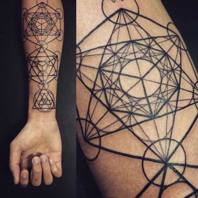 flower of life tattoo23
