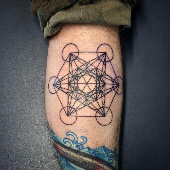 flower of life tattoo24