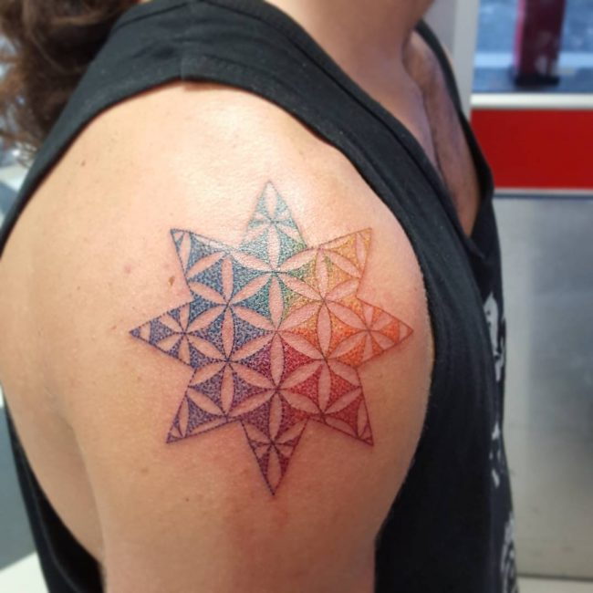 flower of life tattoo30