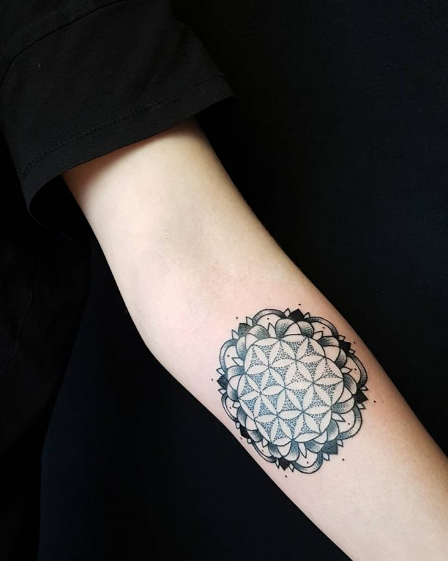 flower of life tattoo32