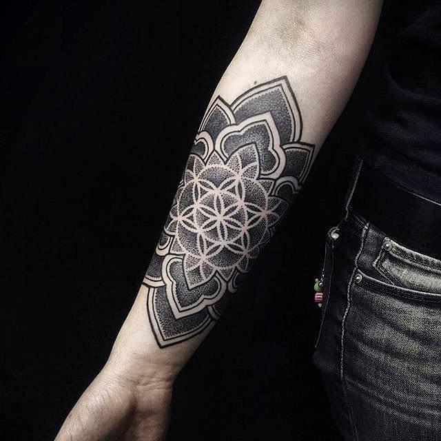 flower of life tattoo33