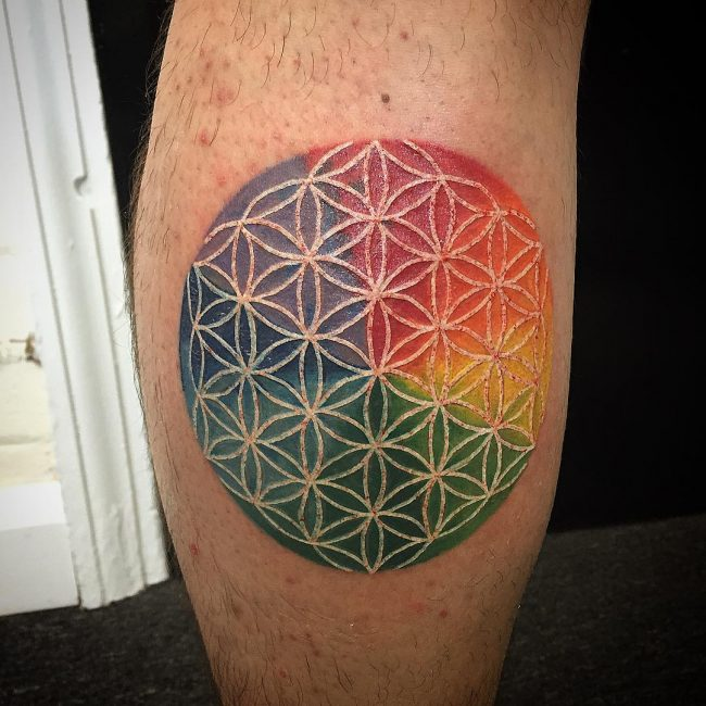 flower of life tattoo4