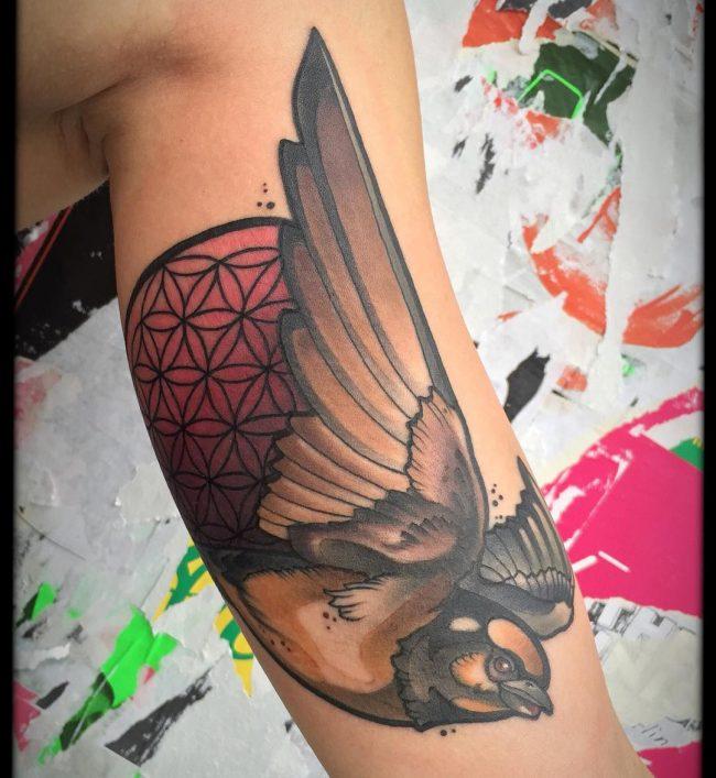 flower of life tattoo5