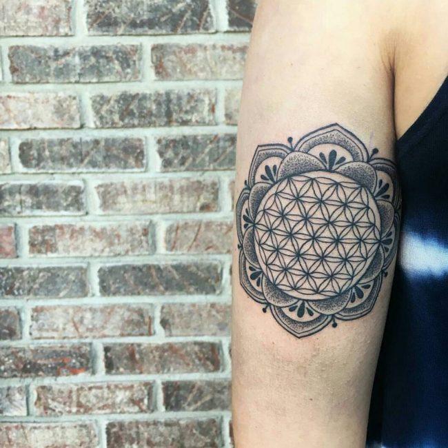 flower of life tattoo8