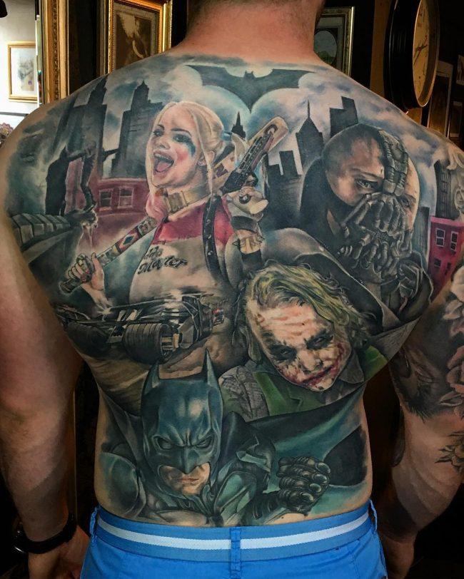 harley quinn tattoo19