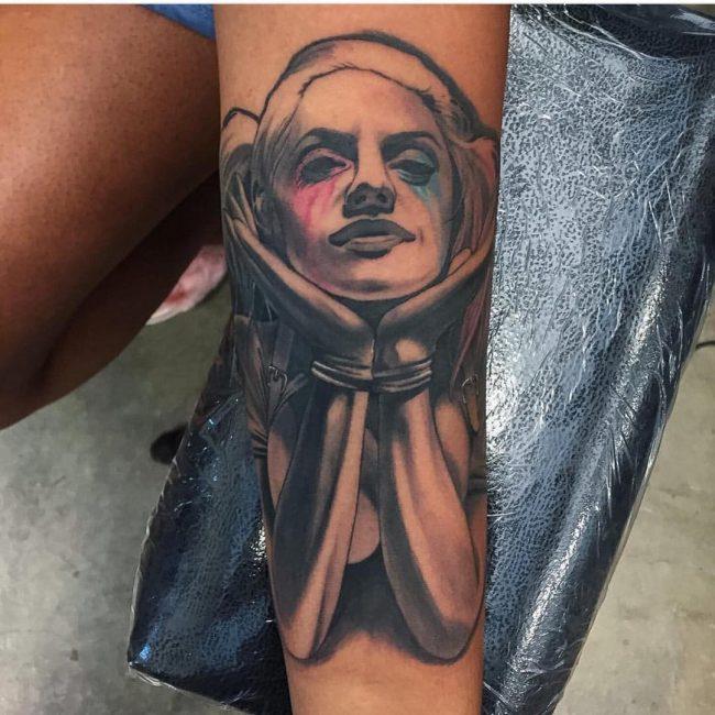 harley quinn tattoo25
