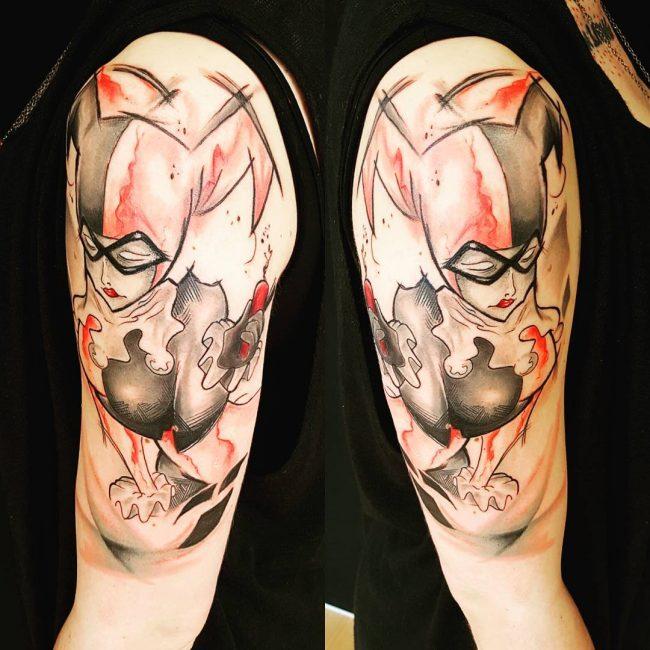 harley quinn tattoo29