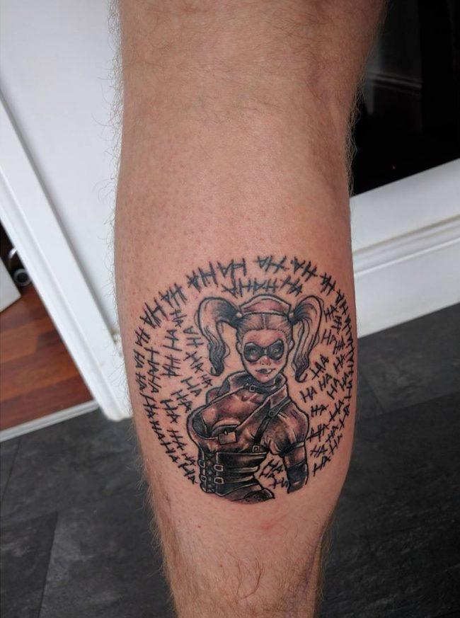 harley quinn tattoo7