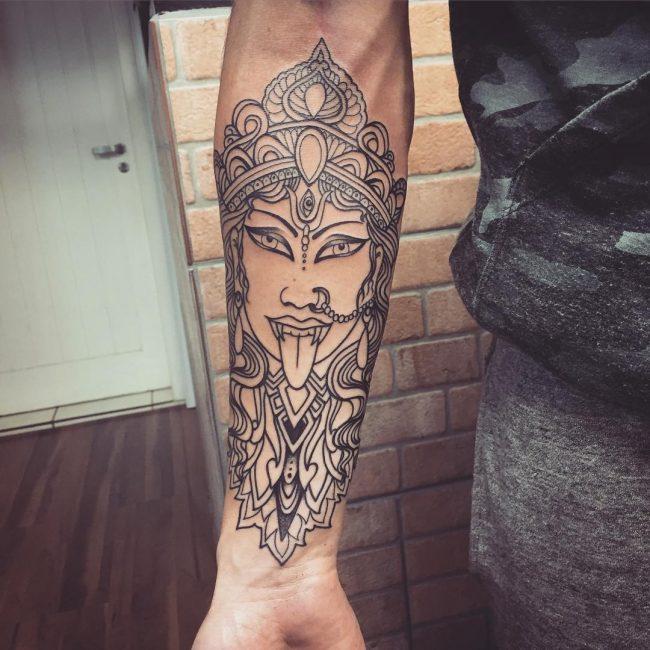hindu tattoo10