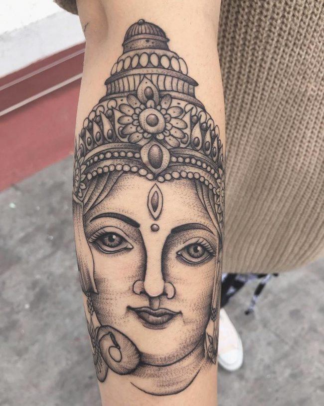 hindu tattoo23