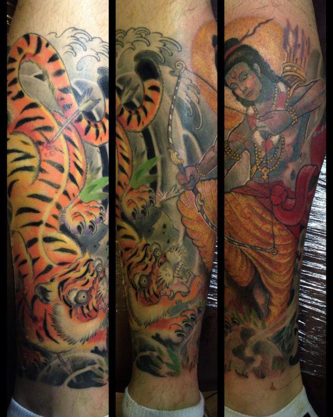 hindu tattoo27