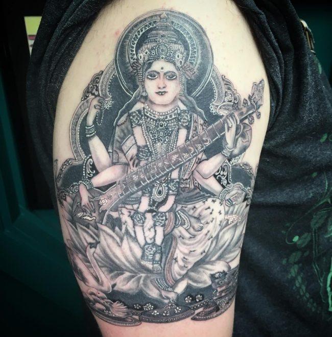 hindu tattoo29