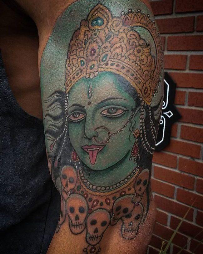 hindu tattoo41