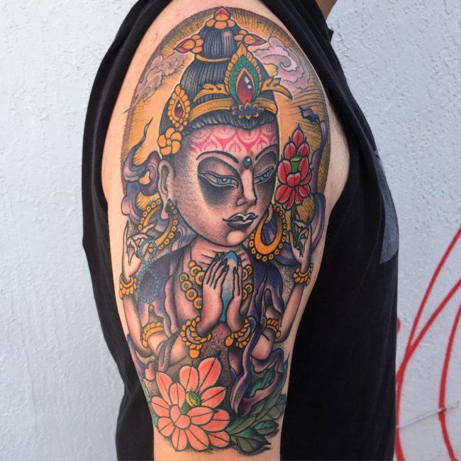hindu tattoo42