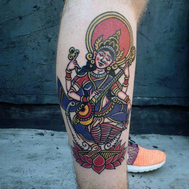 hindu tattoo44