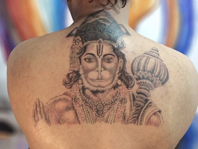 3034b3c59 70+ Sacred Hindu Tattoo Ideas – Incredible Designs Packed With Color and  Meaning