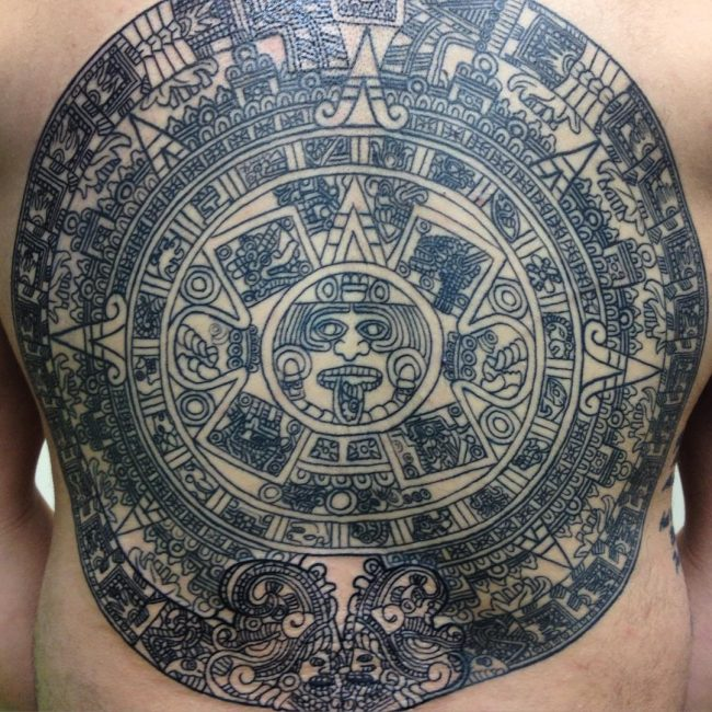 Calendar Art Meaning : Symbolic mayan tattoo ideas fusing ancient art with